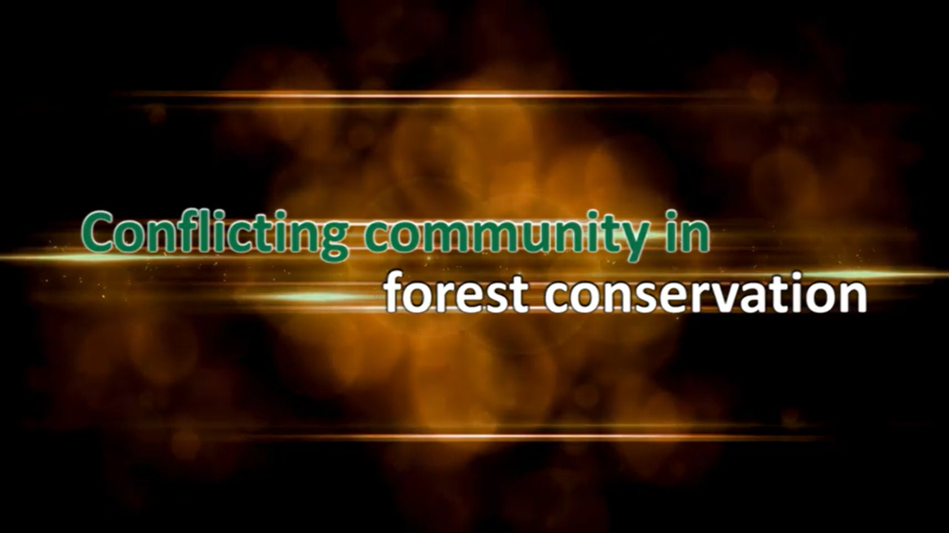 Conflict Transformation Brings Together for Forest Conservation
