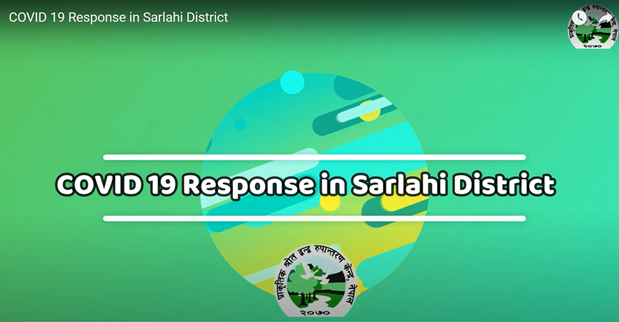COVID 19 Response in Sarlahi District