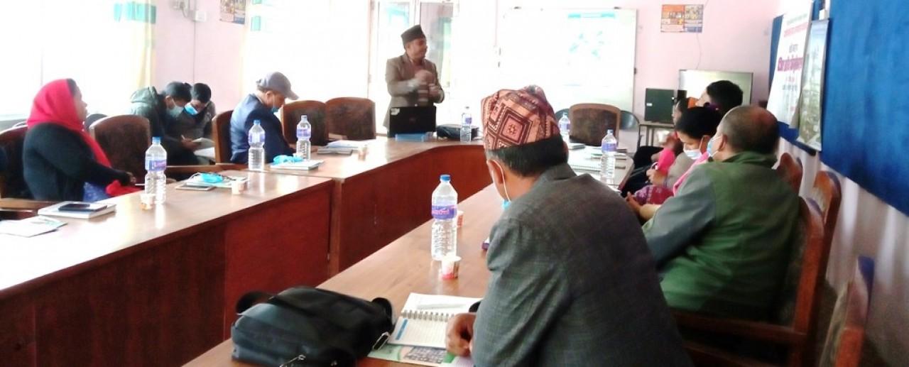 District Level Orientation Workshop in Mahottari District