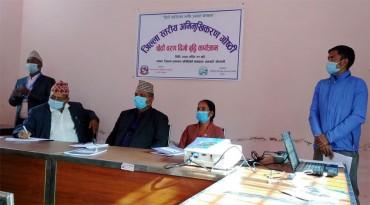 NRCTP-VI orientation program in Kailali District