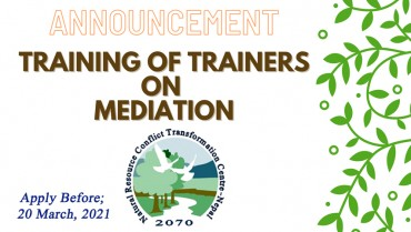 Training of Trainers on Mediation