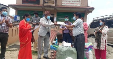NRCTC-N supported COVID patients in Mandandeupur Municipality